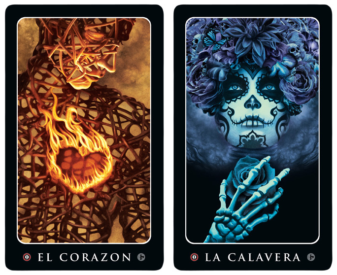 Loteria cards by John Picacio