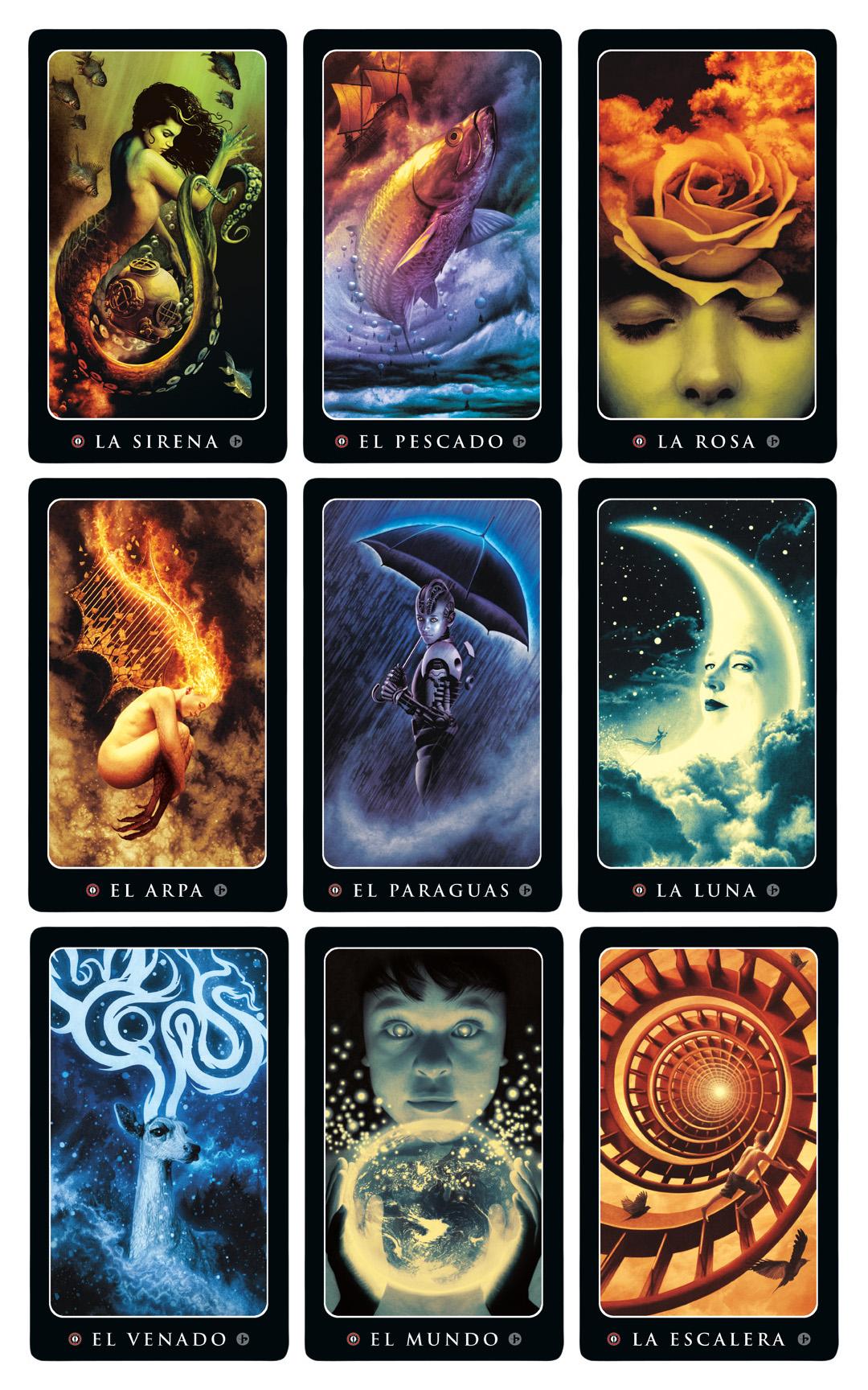 Loteria Grande cards by John Picacio