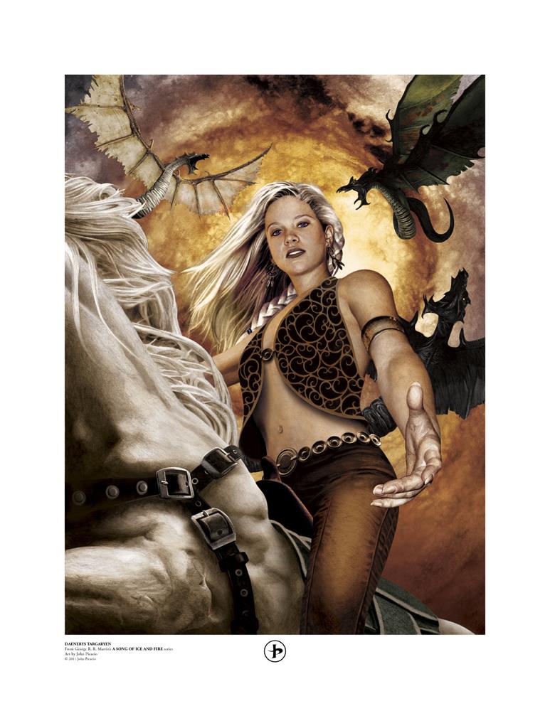 Daenerys Targaryen by John Picacio
