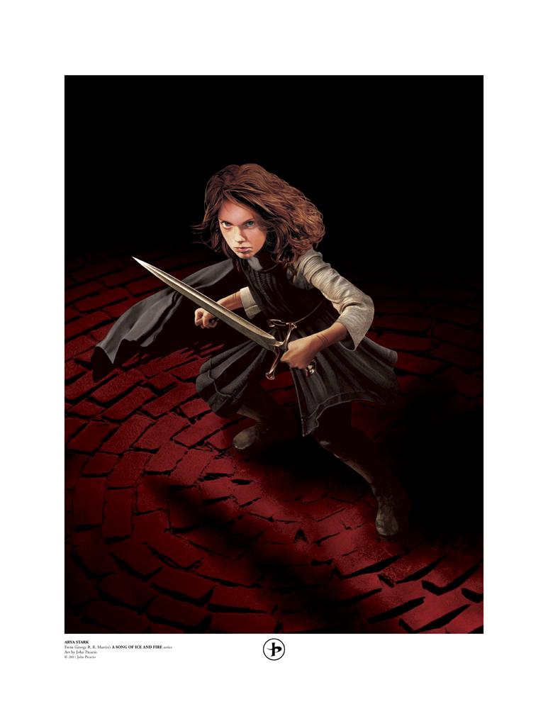 Arya Stark by John Picacio